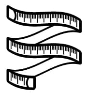 measurement_blanck_and_white_icon