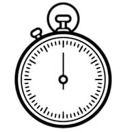 stopwatch_blanck_and_white_icon